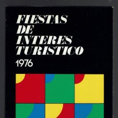 Folletos de turismo: FIESTAS DE INTERÉS TURÍSTICO 1976 ESPAÑA. (MENORCA.1.5). Lote 170495752