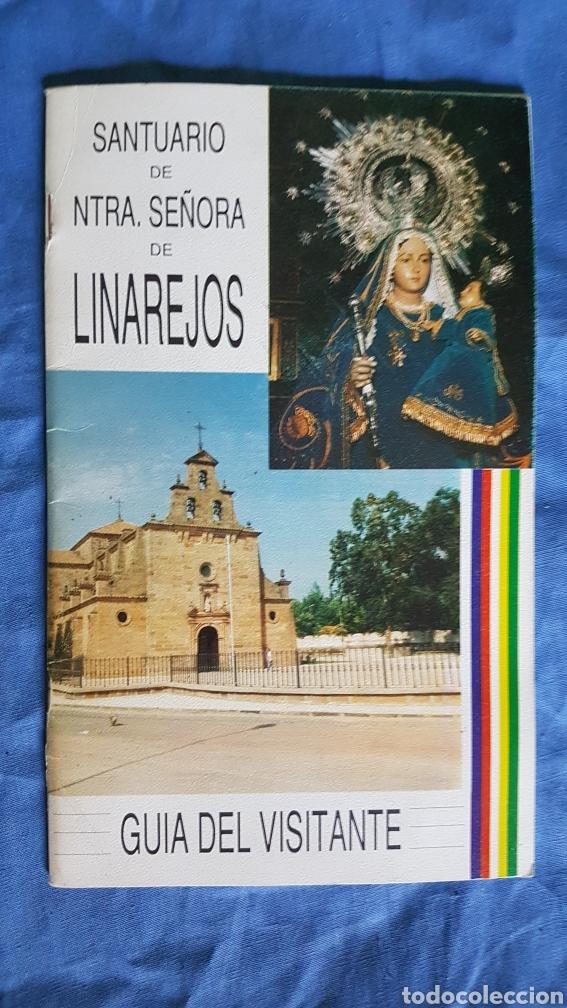 GUÍA VISITANTE SANTUARIO VIRGEN DE LINAREJOS 1990 (Coleccionismo - Folletos de Turismo)