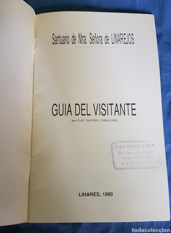 Folletos de turismo: Guía visitante Santuario Virgen de Linarejos 1990 - Foto 2 - 170817243