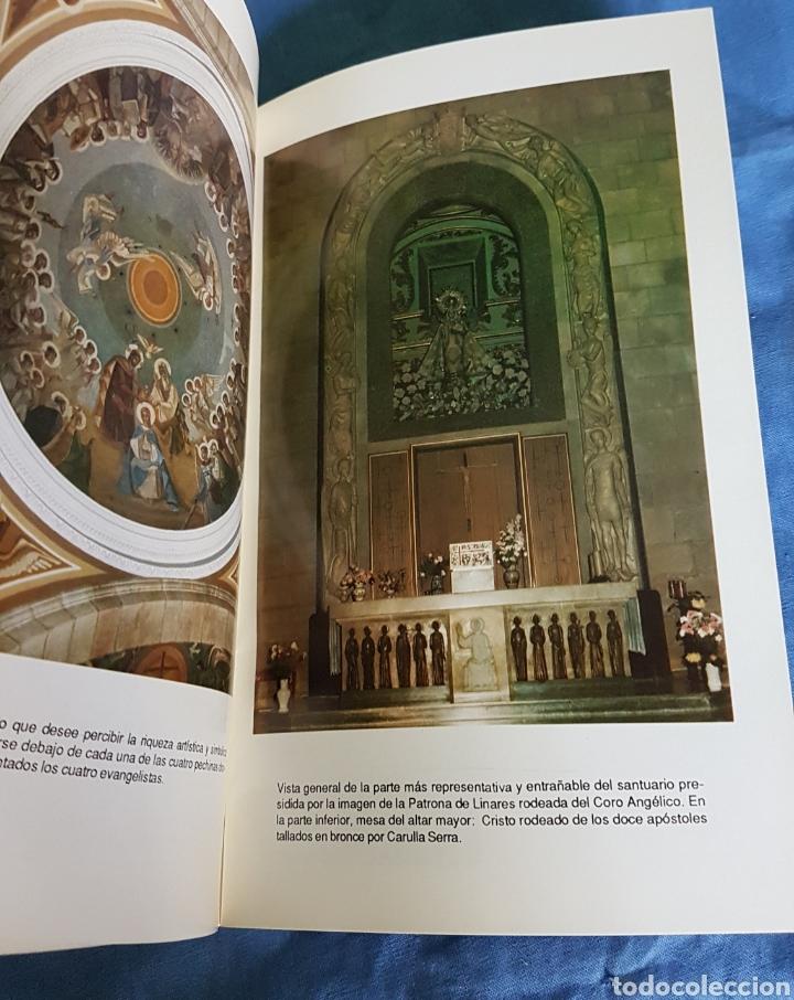 Folletos de turismo: Guía visitante Santuario Virgen de Linarejos 1990 - Foto 3 - 170817243