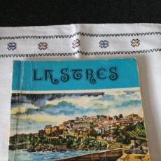 Folletos de turismo: 20-LASTRES, FIESTAS DE SAN ROQUE, 1977, ASTURIAS. Lote 171141468