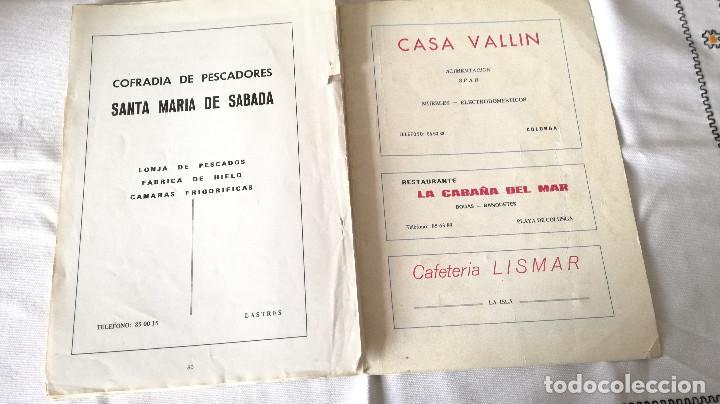 Folletos de turismo: 20-LASTRES, Fiestas de San Roque, 1977, ASTURIAS - Foto 9 - 171141468
