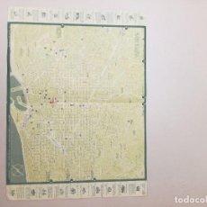 Folletos de turismo: PLANO-GUÍA DE BARCELONA DE 1958. Lote 171485417