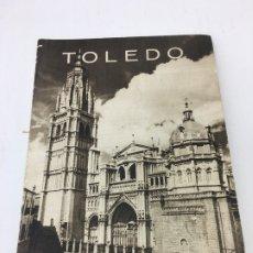 Folletos de turismo: TOLEDO, FOLLETO DE 8 PAGINAS DE LA DIRRECCION GENERAL DE TURISMO, AÑOS 50/60. Lote 172580862
