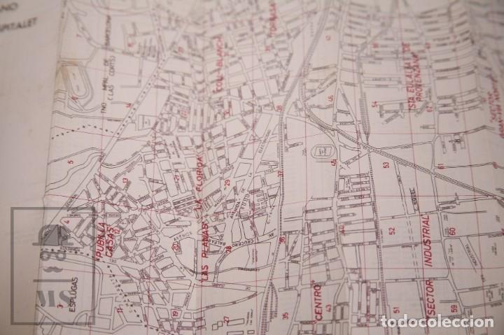 Folletos de turismo: Suplemento Guía Urbana de Barcelona, 1966 - Plano Hospitalet, Badalona, Sta Coloma, Esplugas, etc. - Foto 3 - 172822255