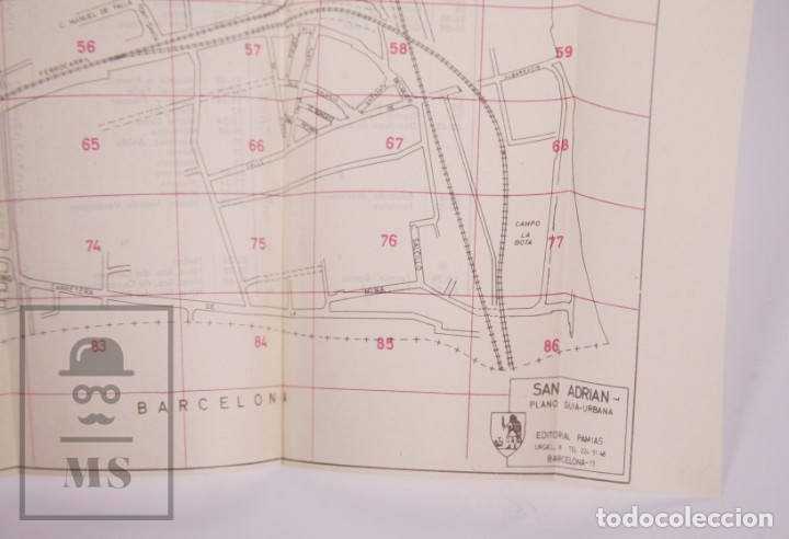 Folletos de turismo: Suplemento Guía Urbana de Barcelona, 1966 - Plano Hospitalet, Badalona, Sta Coloma, Esplugas, etc. - Foto 6 - 172822255