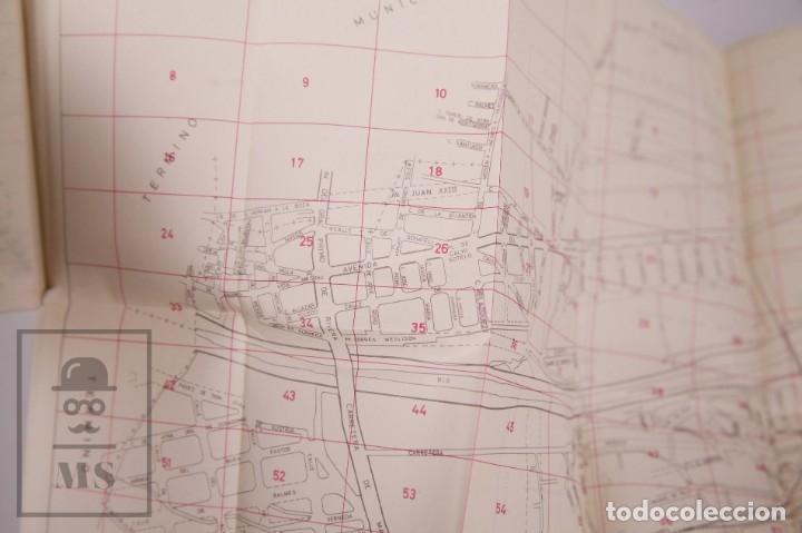 Folletos de turismo: Suplemento Guía Urbana de Barcelona, 1966 - Plano Hospitalet, Badalona, Sta Coloma, Esplugas, etc. - Foto 7 - 172822255
