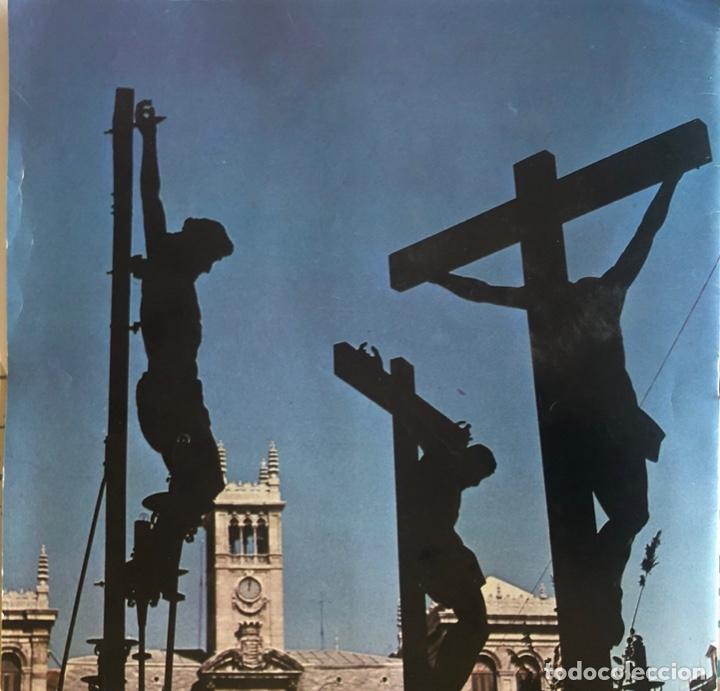 Folletos de turismo: FOLLETO TURISTICO. VALLADOLID. SEMANA SANTA 1981. ILUSTRACIONES A COLOR. VER FOTOS. - Foto 5 - 206537421