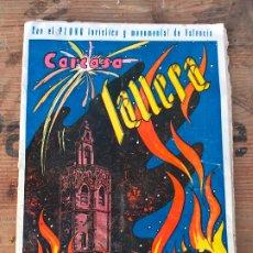 Folletos de turismo: REVISTA FALLERA , CARCASA FALLERA ,1959 - FALLAS VALENCIA - ORIGINAL. Lote 172899970