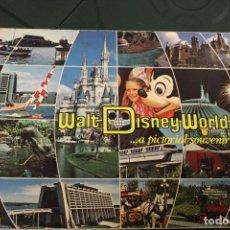 Folletos de turismo: ALBUM DE FOTOS DE WALT DISNEY WORLD 1977 EN COLOR. Lote 173116654