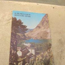Folletos de turismo: ANTIGUO FOLLETO TURISMO BALNEARIO DE PANTICOSA. Lote 173238932
