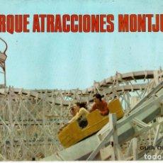 Folletos de turismo: PARQUE ATRACCIONES MONTJUICH / BARCELONA / GUIA OFICIAL / 1968. Lote 173400882
