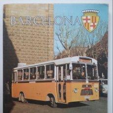 Folletos de turismo: BUS METRO TRANVÍA BARCELONA GUÍA OFICIAL DE TRANSPORTES URBANOS 1966. Lote 173796213