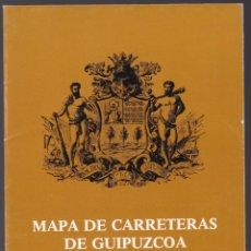 Mapa De Carreteras De Guipuzcoa Diputacion Fo Buy Old Travel
