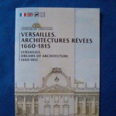 Folletos de turismo: FOLLETO PALACIO DE VERSALLES EN INGLES Y FRANCES 2019. Lote 174056433