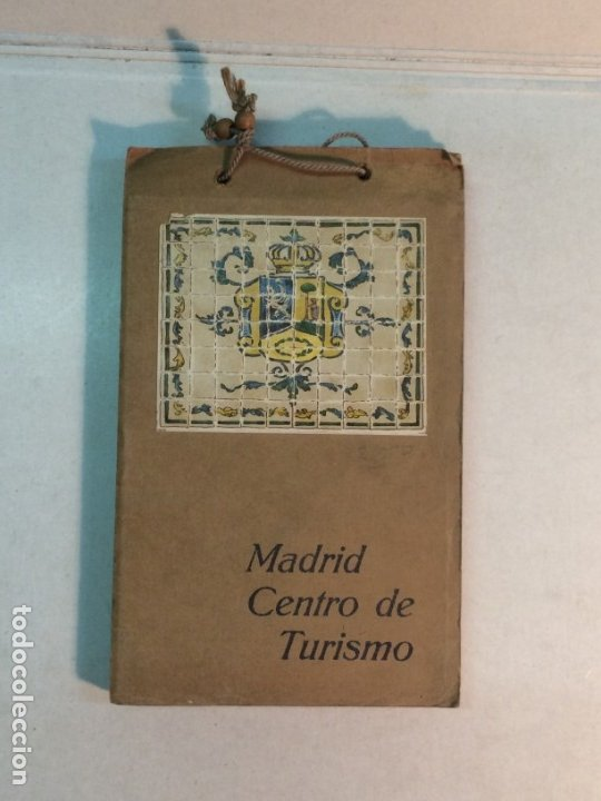 GUIAS MATEU: MADRID. CENTRO DE TURISMO (Coleccionismo - Folletos de Turismo)