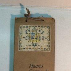 Folletos de turismo: GUIAS MATEU: MADRID. CENTRO DE TURISMO. Lote 174109397