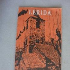 Folletos de turismo: FOLLETO TURISMO LERIDA 1967. Lote 174153607