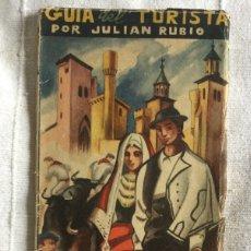 Folletos de turismo: GUIA DEL TURISTA POR JULIAN RUBIO. NAVARRA ESPAÑA. Lote 175043348