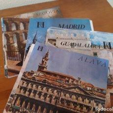 Folletos de turismo: LOTE DE 47 FOLLETOS BANCO HISPANO AMERICANO CONOZCA ESPAÑA CON NOSOTROS, (INCOMPLETA). Lote 176555502