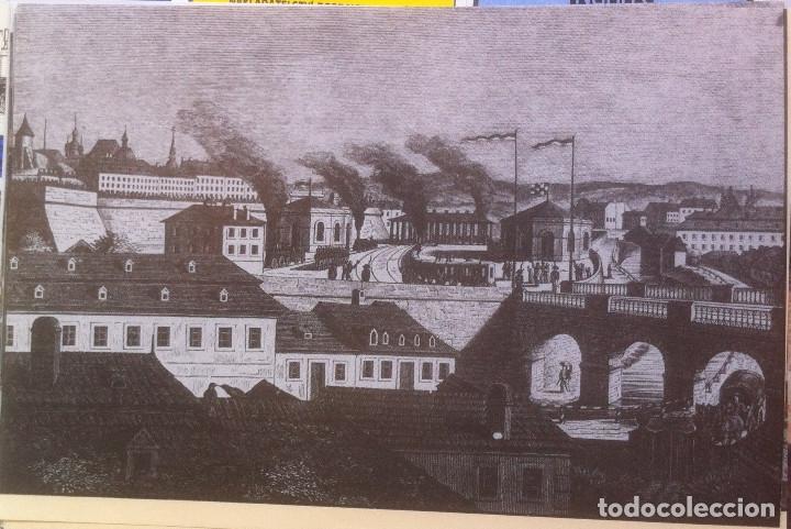 Folletos de turismo: Zeleznice vcera a dnes (Ferrocarril ayer y hoy) . Ed. de Trans. y Comunicaciones. 1989 (en eslovaco) - Foto 6 - 176610884