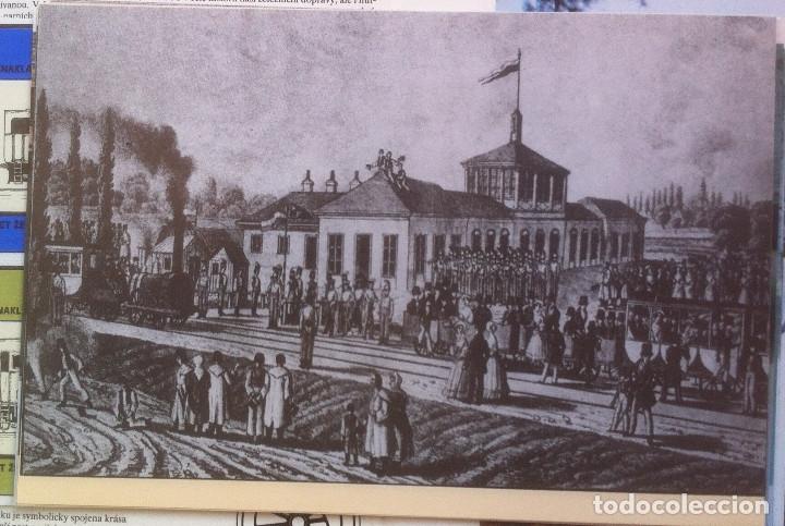Folletos de turismo: Zeleznice vcera a dnes (Ferrocarril ayer y hoy) . Ed. de Trans. y Comunicaciones. 1989 (en eslovaco) - Foto 7 - 176610884