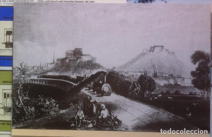 Folletos de turismo: Zeleznice vcera a dnes (Ferrocarril ayer y hoy) . Ed. de Trans. y Comunicaciones. 1989 (en eslovaco) - Foto 8 - 176610884