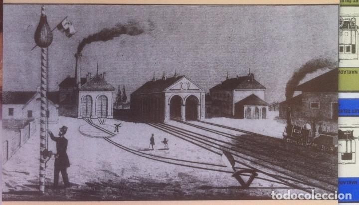Folletos de turismo: Zeleznice vcera a dnes (Ferrocarril ayer y hoy) . Ed. de Trans. y Comunicaciones. 1989 (en eslovaco) - Foto 10 - 176610884