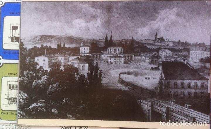 Folletos de turismo: Zeleznice vcera a dnes (Ferrocarril ayer y hoy) . Ed. de Trans. y Comunicaciones. 1989 (en eslovaco) - Foto 11 - 176610884