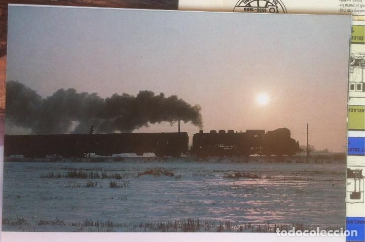 Folletos de turismo: Zeleznice vcera a dnes (Ferrocarril ayer y hoy) . Ed. de Trans. y Comunicaciones. 1989 (en eslovaco) - Foto 13 - 176610884