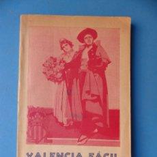 Folletos de turismo: VALENCIA FACIL - GUIA PRACTICA - AÑO 1931 - PLANO TURISTICO - 21 X 13 CM.. Lote 176849137
