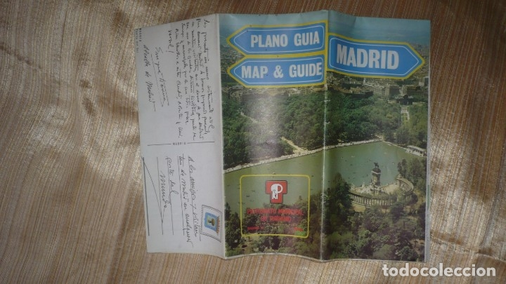 MAPA-PLANO CALLEJERO DE MADRID AÑO 1984 (Coleccionismo - Folletos de Turismo)
