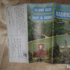 Folletos de turismo: MAPA-PLANO CALLEJERO DE MADRID AÑO 1984. Lote 177041353