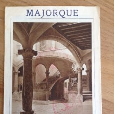 Brochures de tourisme: MAJORQUE, MALLORCA FOLLETO TURISTICO, SELLO FALANGE , PALMA DE MALLORCA FOTOGRAFIAS ANTIGUAS. Lote 177490783