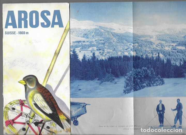 Folletos de turismo: FOLLETO AÑO 1934 * AROSA ( SUISSE ) * - Foto 1 - 177583870