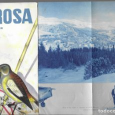 Folletos de turismo: FOLLETO AÑO 1934 * AROSA ( SUISSE ) * . Lote 177583870