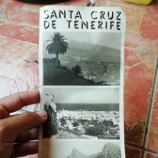 Folletos de turismo: ANTIGUA GUIA FOLLETO TURISMO SANTA CRUZ DE TENERIFE ISLAS CANARIAS . Lote 177653844