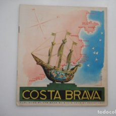 Folletos de turismo: COSTA BRAVA Y96255 . Lote 178000313