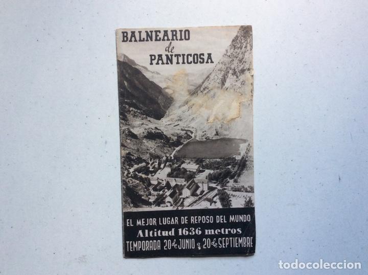 Folletos de turismo: Folleto informativo balneario Panticosa - Foto 2 - 178026518