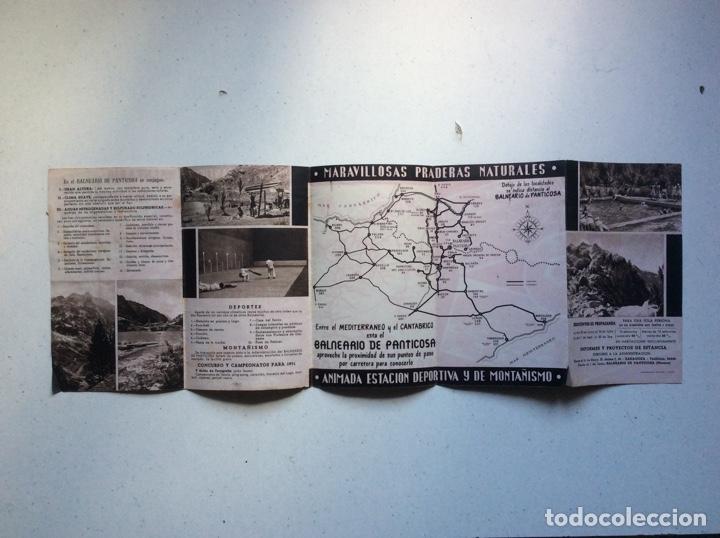 Folletos de turismo: Folleto informativo balneario Panticosa - Foto 3 - 178026518