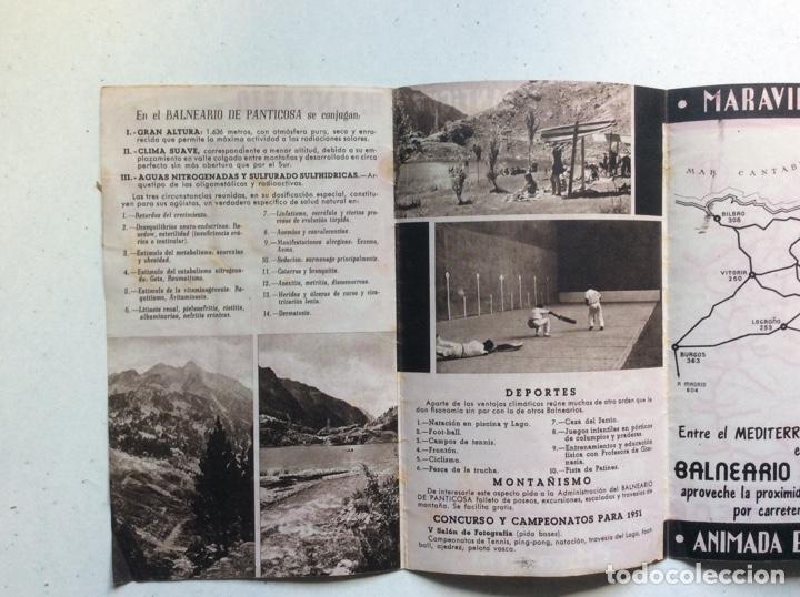 Folletos de turismo: Folleto informativo balneario Panticosa - Foto 4 - 178026518