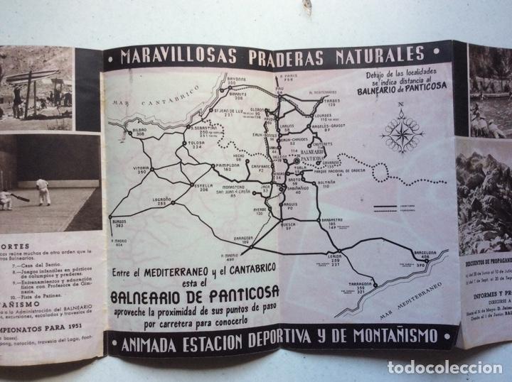 Folletos de turismo: Folleto informativo balneario Panticosa - Foto 5 - 178026518