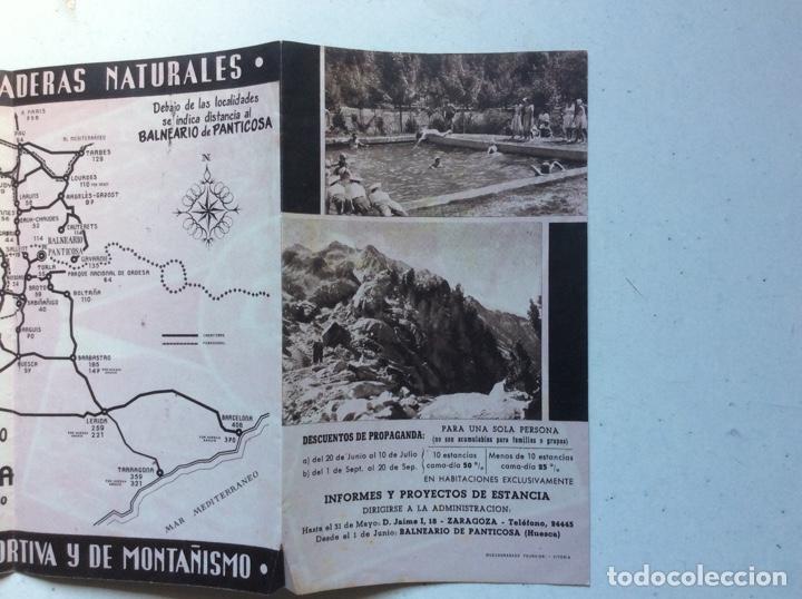 Folletos de turismo: Folleto informativo balneario Panticosa - Foto 6 - 178026518