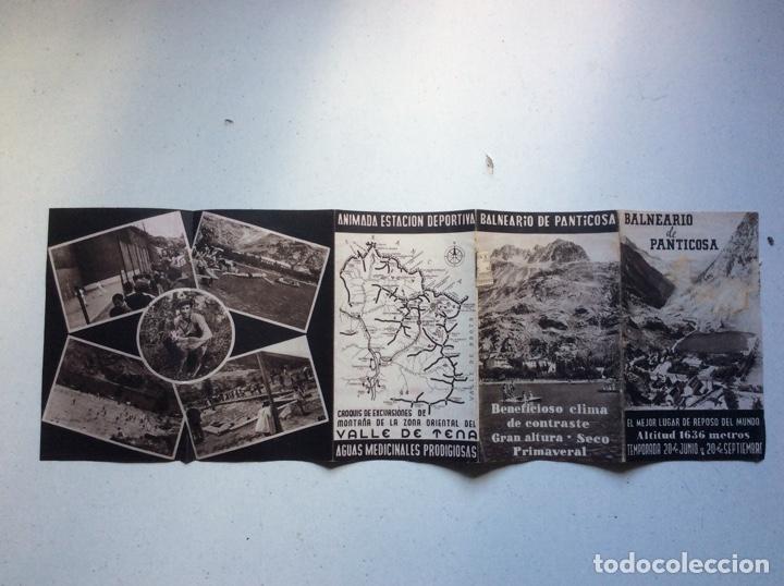 Folletos de turismo: Folleto informativo balneario Panticosa - Foto 7 - 178026518