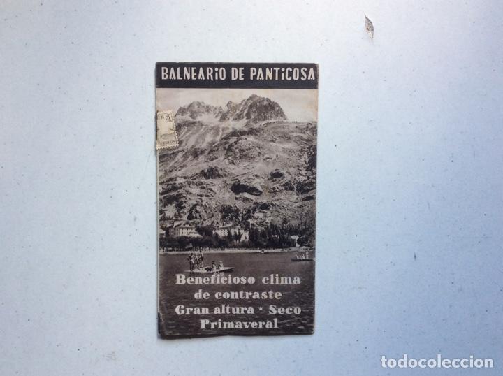 FOLLETO INFORMATIVO BALNEARIO PANTICOSA (Coleccionismo - Folletos de Turismo)