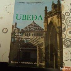 Folletos de turismo: UBEDA GUIA ARTISTICA. Lote 178170518