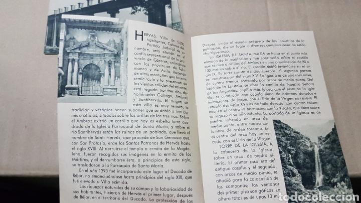 Folletos de turismo: Antiguo folleto turismo hervas Caceres - Foto 2 - 179310208