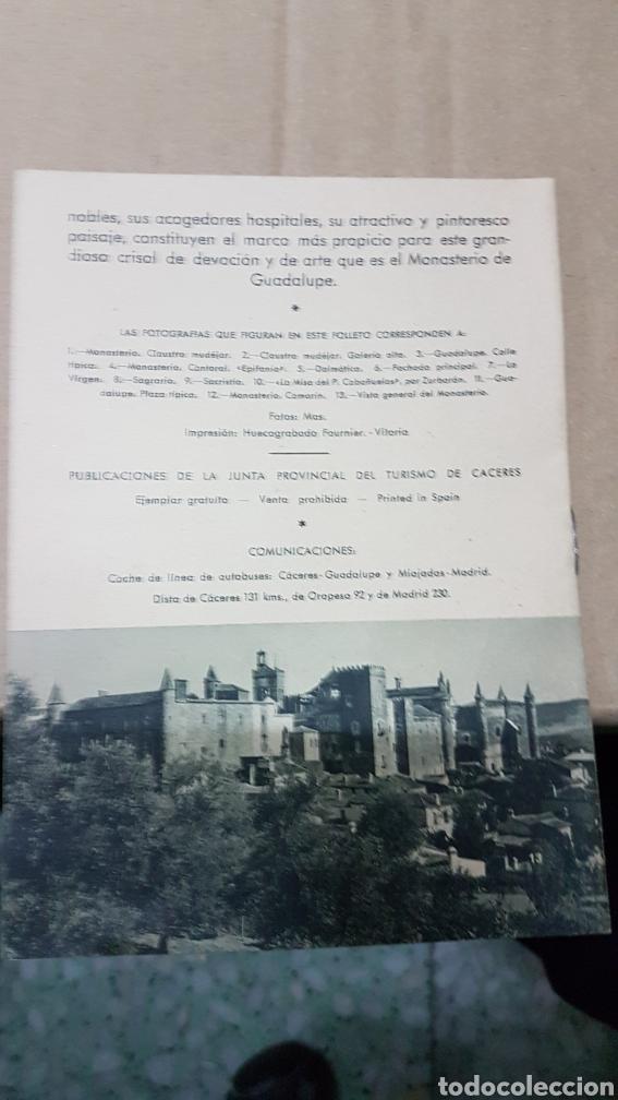 Folletos de turismo: Antiguo folleto turismo hervas Caceres - Foto 3 - 179310208