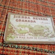 Folletos de turismo: FOTOGRAFÍAS SIERRA NEVADA. Lote 179341170