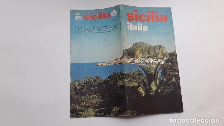 Folletos de turismo: SICILIA. ITALIA, 1970 (folleto en italiano, 65 págs, fotos en color) - Foto 9 - 180147977